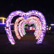wedding arches with lights special design heart shape wedding arch reson
