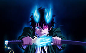 blue exorcist anime wallpaper hd blue exorcist rin demon form wallpapers hd