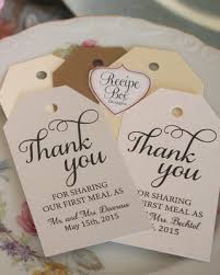 wedding tags for favors deals on thank you wedding favor tags custom tags thank you for