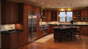 Traditional Adorable Dark Maple Kitchen Cabinets At Kitchens With | traditional adorable dark maple kitchen cabinets at kitchens with
