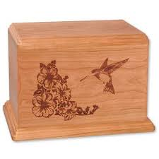 wooden urns for ashes hummingbird wooden urns for ashes newport
