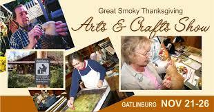 smoky thanksgiving arts crafts show gatlinburg tn