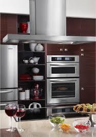 kitchenaid microwave hood fan kitchenaid kehu309sss 30 microwave combination wall oven with 4 3