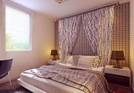 curtain wall in small bedroom