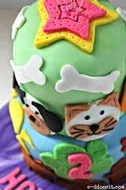e d does it cats u0026 dogs birthday cake