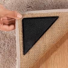 Corner Rug Grippers Corner Carpet Grips Set Of 8 Carpet Grip Rugs Grip Walter Drake