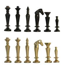 Staunton Chess Pieces by 3