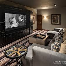 Media Rooms - media room vintage movie posters design ideas pictures remodel