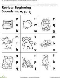 beginning letter sound worksheets worksheets