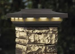 8x8 solar postcover cap light woodland gray deckorators hhdepot
