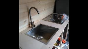 Galley Kitchen Sink Van Life Kitchen Galley Build Bailey Pup Whines Again Then