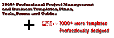 pm milestone 7000 project management and business templates