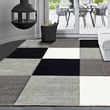 tappeti design moderni vimoda infinity6392 tappeto dal design moderno a quadretti mano