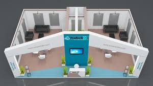 Floor Plan 3d Free Download Exhibition Booth Design 10 Mtr X 6 Mtr 1 Side Open Free Download
