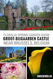 floralia flower and garden show at groot bijgaarden castle belgium
