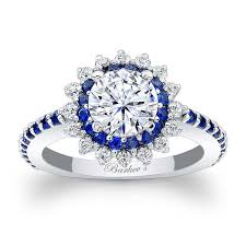 Sapphire Wedding Rings by Sapphire Engagement Rings