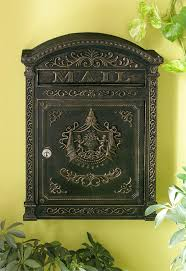 Bronze Wall Mount Mailbox 38 Best Mail Boxes Images On Pinterest Mail Boxes Letter Boxes