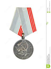 Sickle Russian Flag Honor Medal With Hammer And Sickle Stock Photo Image Of