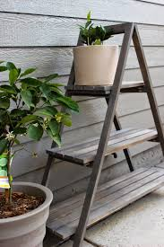 diy a frame plant stand outdoor living backyard and patios