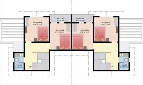 Row House Plans - simple small row house plans placement building plans online 68356