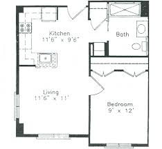 small 1 bedroom house plans beautiful one bedroom house plans with photos for kitchen