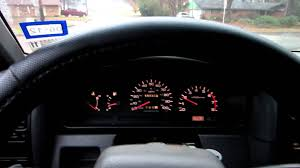 nissan pickup 1997 custom d21 instrument cluster youtube