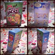 mlp applejacks cereal box papercraft by krazykari on deviantart