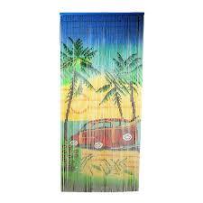 shop bamboo 54 woody car 80 in bamboo semi sheer single curtain