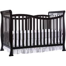 Black Convertible Cribs On Me Violet 7 In 1 Convertible Crib Black Walmart