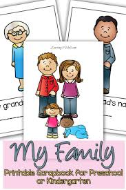my family preschool theme scrapbook scrapbook explore and family