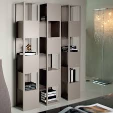 Bookcases Ideas Gorgeous Cream Book Shelves With Some Books And Glamorus