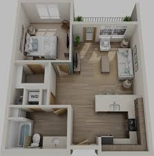 Luxury Apartment Floor Plan by Spyglass Hill U2013 Sound West Group