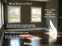 top home staging mistakes made by realtors showhomes empty rooms