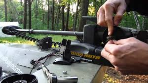 how to replace a trolling motor prop youtube
