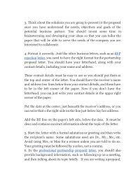 proposal letters sponsorship proposal letter template pdf format