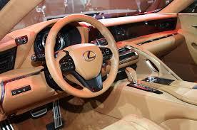 lexus ls 500 interior by design lexus lc 500