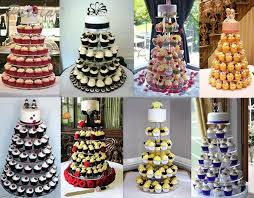 6 tier cupcake tower clear birthday wedding party celebrations