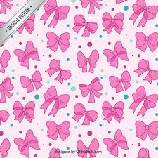 pink bows pink bows pattern vector free