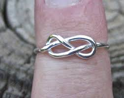 avery heart knot ring vintage knot ring etsy