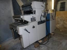 single colour used offset printing machines ryobi 500 k np offset