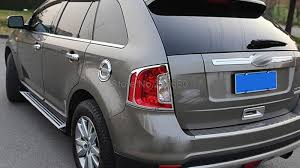 ford edge accessories aliexpress com buy for ford edge 2012 2013 2014 abs chrome rear