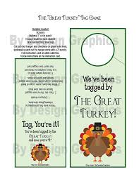 digital great turkey tag thanksgiving version of you ve