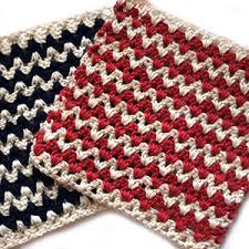 pattern of crochet stitches free crochet dishcloth pattern zigzag mellie blossom