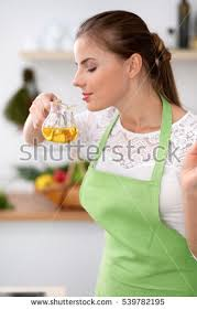 In The Green Kitchen - happy family kitchen mother child daughter stock photo 604445615