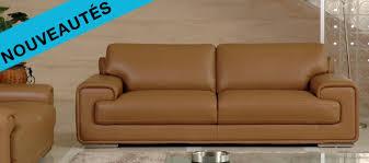 un canapé cuir un canapé d angle ou un canapé design dans votre salon
