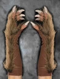 Werewolf Halloween Costume Brown Werewolf Wolf Claws Hands Scary Zagone Halloween