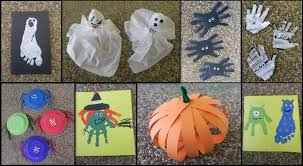 8 halloween crafts for toddlers u0026 kids youtube