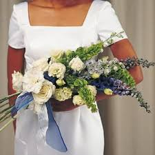 Wedding Flowers Blue And White Blue And White Wedding Flowers