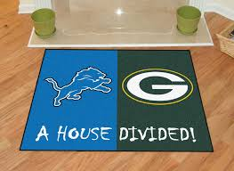 Detroit Lions Home Decor by Green Bay Packers Rug Roselawnlutheran
