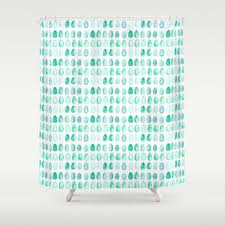 Aqua Blue Shower Curtains Robin 39 S Egg Blue Shower Curtain From The Tangled Path